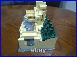 Lego Architecture Fallingwater (21005) Frank Lloyd Wright complete