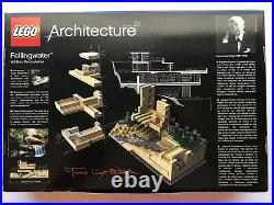 Lego Architecture Fallingwater 21005 NIB Frank Lloyd Wright Design Building NIB