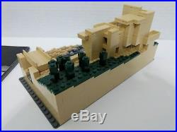Lego Architecture Fallingwater Frank Lloyd Wright 21005 With Instructions