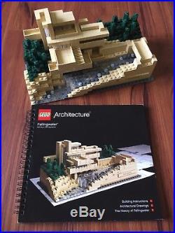 lego architecture fallingwater set 21005 architect series frank