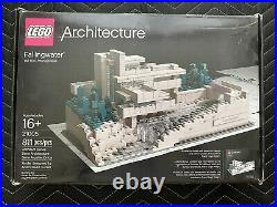 Lego Architecture Frank Lloyd Wright Fallingwater (21005) Complete withBox