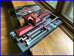 Lego Architecture Frank Lloyd Wright Robie House (21010) manual, no box