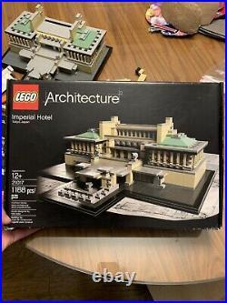 Lego Architecture Imperial Hotel Frank LLoyd Wright 21017