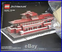 Lego Architecture Robie House 21010 withBox & Instructions! 99% Frank Lloyd Wright