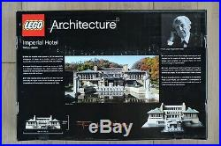 Lego Architecture Series Imperial Hotel 21017 Frank Lloyd Wright Sealed