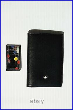 MONTBLANC Meisterstuck Business Card Holder and Frank Lloyd Wright Money Clip
