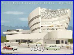 Max Dalton Guggenheim Frank Lloyd Wright xx/300 Durieux Schuiten Taliesin Fairey