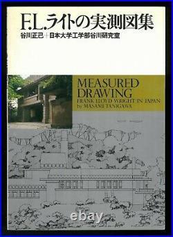 Measured drawing Frank lloyd Wright in Japan Masami Tanigawa 1980