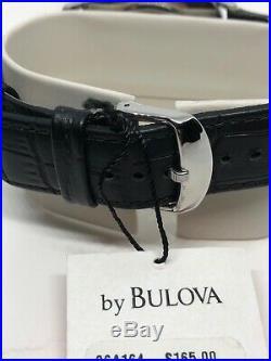 Mens Bulova Watch 96a164 Frank Lloyd Wright Collection
