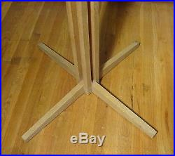 Mid-Century Modern Coat Rack Frank Lloyd Wright Geritt Rietveld Style Beech Wood