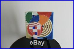 Motawi Tileworks Ann Arbor MI Frank Lloyd Wright Tile on Stand 6x6 Hoffman House
