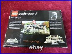 NEW Damaged Box LEGO 21017 Architecture Imperial Hotel Frank Lloyd Wright