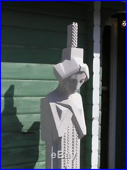 Frank Lloyd Wright MIDWAY GARDEN SPRITE STATUE WithCOMB 10yr Warr SANDSTONE