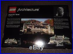 NEW LEGO 21017 Architecture Imperial Hotel Set Sealed Retired Frank Lloyd Wright