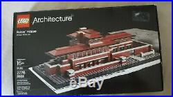 NEW LEGO Set 21010 Robie House Architecture Frank Lloyd Wright