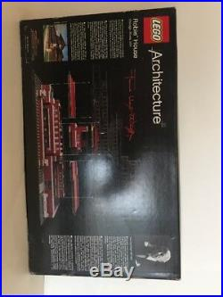 NEW LEGO Set 21010 Robie House Architecture Frank Lloyd Wright Sealed RETIRED A