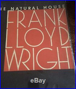 New Listing Frank Lloyd Wright First Edition The Natural House 1954 Dj Intact