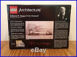 NEW Lego Architecture Solomon R. Guggenheim Museum (21004) Frank Lloyd Wright