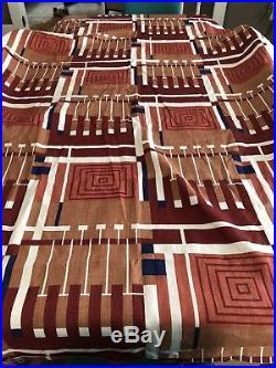 NEW RARE Frank Lloyd Wright Fabric Design 102 Taliesin Schumacher VINTAGE 1955