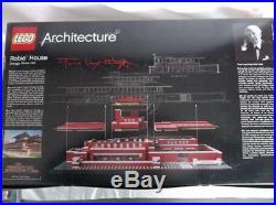 NIB Lego Architecture Robie House (21010) NISB Frank Lloyd Wright Chicago