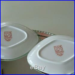 NORITAKE FRANK LLOYD WRIGHT IMPERIAL TABLEWEARE Lozenge plate x2 F/S NEW