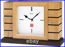 (Natural) Bulova Usonian II Frank Lloyd Wright Clock. Best Price