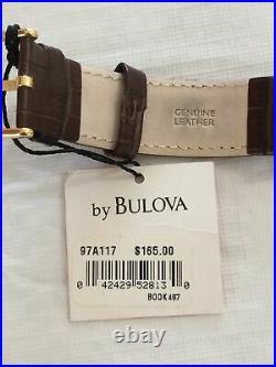 New Bulova Mens Frank Lloyd Wright Wristwatch (Hard To Find Watch)