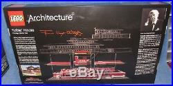 New Lego Architecture Frank Lloyd Wright Robie House 21010 Sealed, Damaged Box
