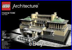 New & Sealed IMPERIAL HOTEL Frank Lloyd Wright Architecture Lego Set #21017