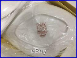 Noritake Frank Lloyd Wright Imperial Diamond Plate Pair Set Cake Plate Hotel