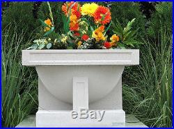 OAK PARK STUDIO Outdoor Vase LANDSCAPE PLANTER 10yr Warranty FRANK LLOYD WRIGHT