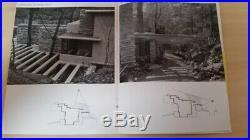 Original 1938 A New House on Bear Run PA Frank Lloyd Wright Museum Modern Art NY