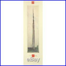 Original Frank Lloyd Wright 1990 Fine Art Architecture Exhibition Poster