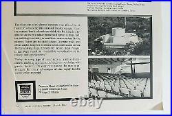 Original Frank Lloyd Wright Designed Kalita Humphreys Theater Not Signed Rare