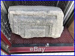 Original Frank Lloyd Wright Ennis House Block Fragment