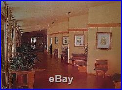 Original Frank Lloyd Wright Unitarian Church Seat Designed By Flw For His Church