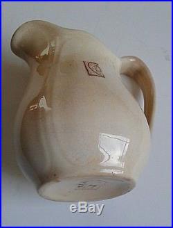 Original Milk Pitcher From Frank Lloyd Wright Designed Larkin Building Signed