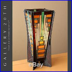 Rare Stained Gl Frank Lloyd Wright Style Lamp Art Deco