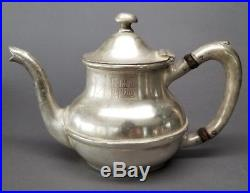 Rare FRANK LLOYD WRIGHT MIDWAY GARDENS Teapot CIRCA 1914 Chicago ANTIQUE
