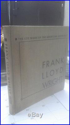 Rare Vintage FRANK LLOYD WRIGHT book, 1925, modern architecture
