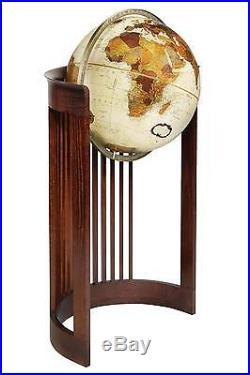 Replogle Barrel Frank Lloyd Wright Floor Globe 16 Inch