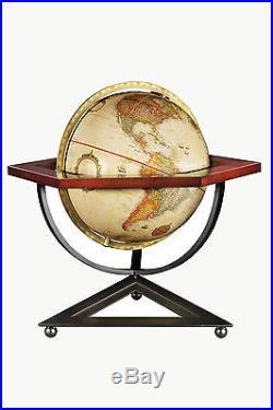 Replogle Hexagon Frank Lloyd Wright Globe 12 Antique Design. Brand New