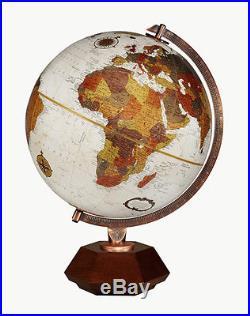 Replogle Hexhedra Frank Lloyd Wright Desktop Globe 12 Inch