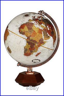 Replogle Hexhedra Frank Lloyd Wright Globe 12 Bronze Metallic. Brand New