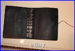 Retire Oberon Frank lloyd Wright Deco Design Pebbled Leather Large Journal 9.5x7