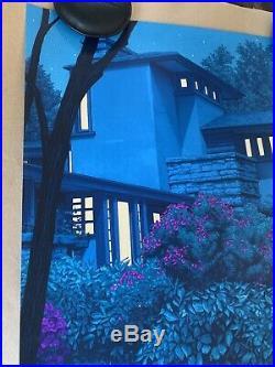 Rory Kurtz Taliesin East Art Print GLOW IN DDARK Frank Lloyd Wright Timeless 100