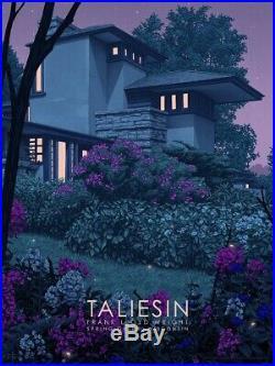 Rory Kurtz Taliesin East Frank Lloyd Wright Architecture Art Poster Print
