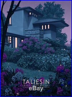 Rory Kurtz Taliesin East Frank Lloyd Wright Architecture Art Print Poster