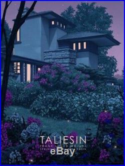Rory Kurtz Taliesin East Frank Lloyd Wright Architecture Art Screen Print