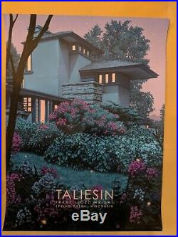 Rory Kurtz Taliesin East Frank Lloyd Wright Art Screen SOLD OUT